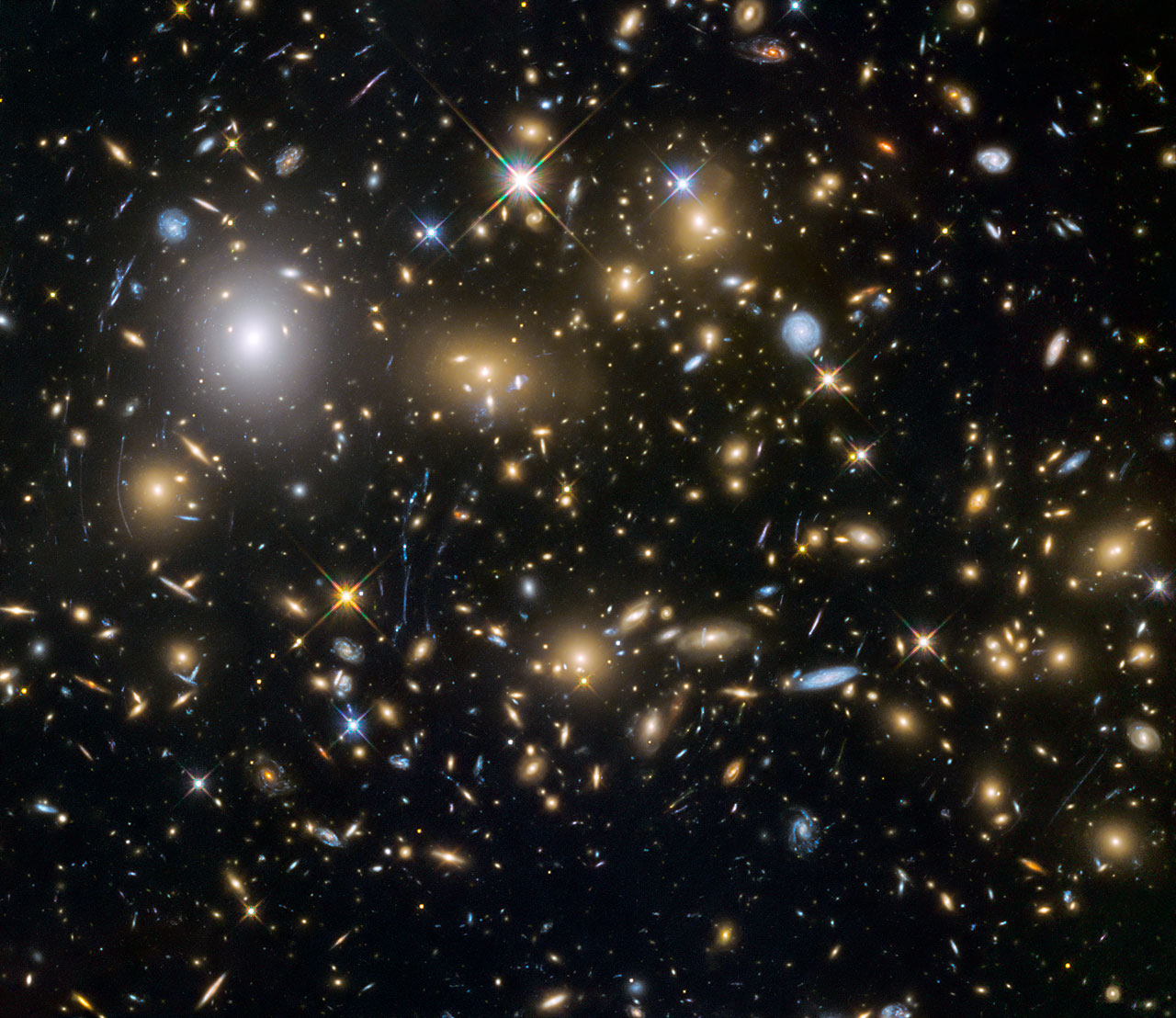 hubble telescope pictures of galaxies - HD1280×1108